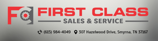 First Class Sales & Service: Car care you can trust!